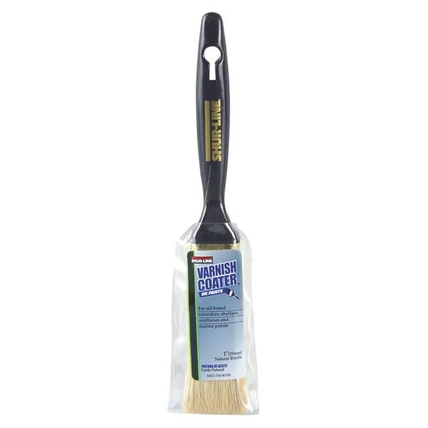 Varnish Coater Natural Bristle Flat Brush