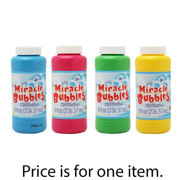 Imperial Toys Miracle Bubbles With Wand Assortment