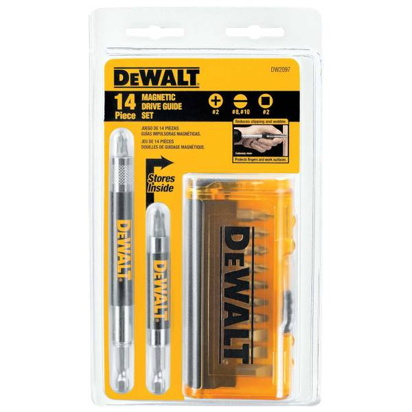 14 Piece Magnetic Drive Guide Set
