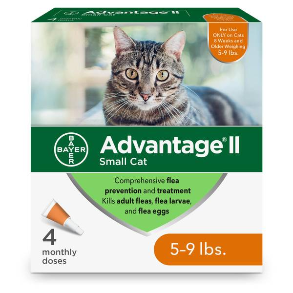 Once A Month Topical Flea Medicine for Cats