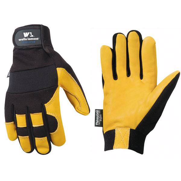 Men's 60g Grain Deerskin Gloves