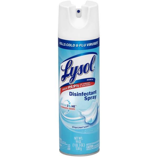 19 oz Crisp Linen Disinfecting Spray