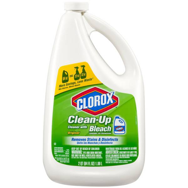 Clean - Up Cleaner with Bleach Refill
