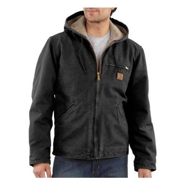 Men's Sandstone Sierra Sherpa Lined Jacket