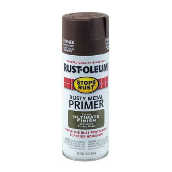 Rust Oleum Rusty Metal Primer Spray Paint
