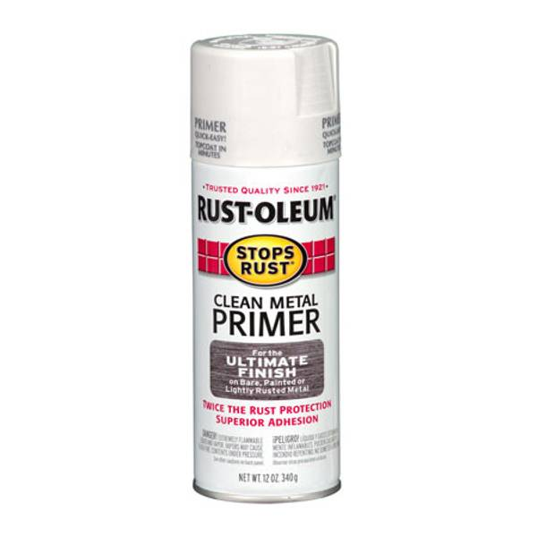 Clean Metal Primer Spray Paint