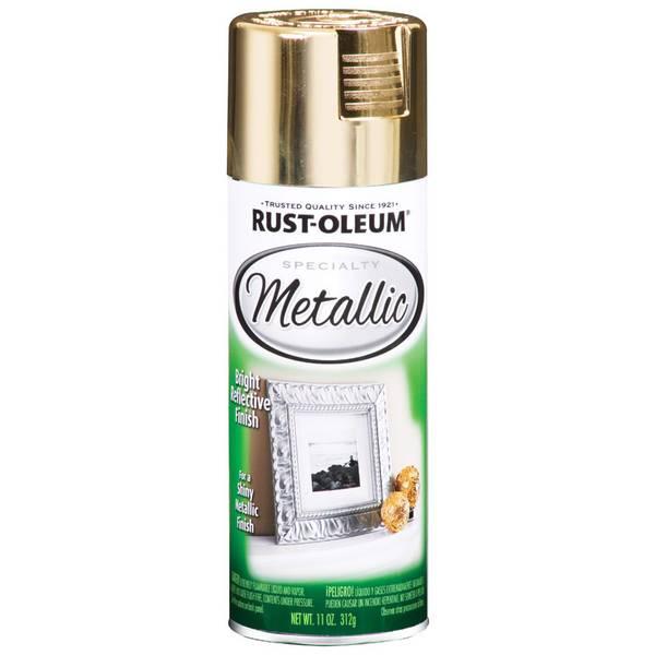Specialty Metallic Finish Spray Paint
