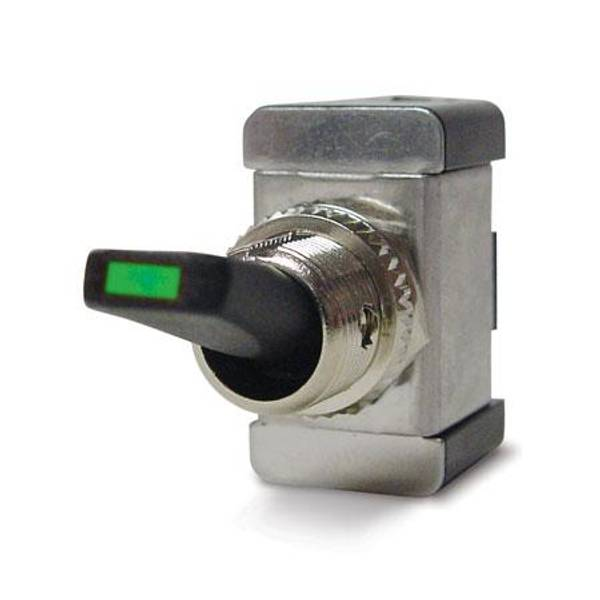 Green LED Toggle Switch