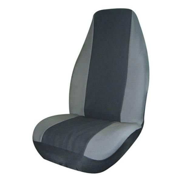 Gray Neoprene Universal Bucket Seat Cover