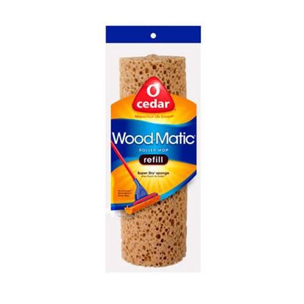 O Cedar Wood Matic Sponge Roller Mop Refill