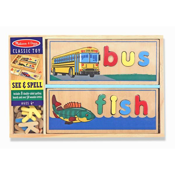 See & Spell Puzzle Set