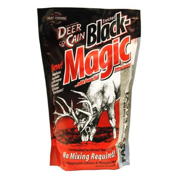 Deer Co-Cain 4.5 lb Black Magic Beneficial Mineral Attractant