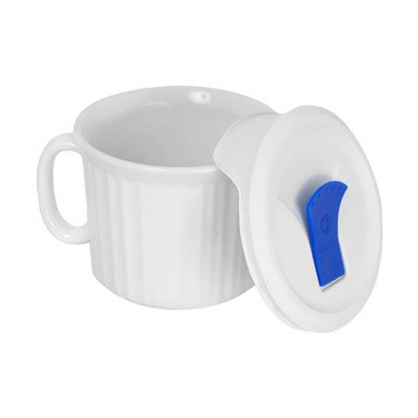 Pop - Ins Mug with Vented Plastic Cover