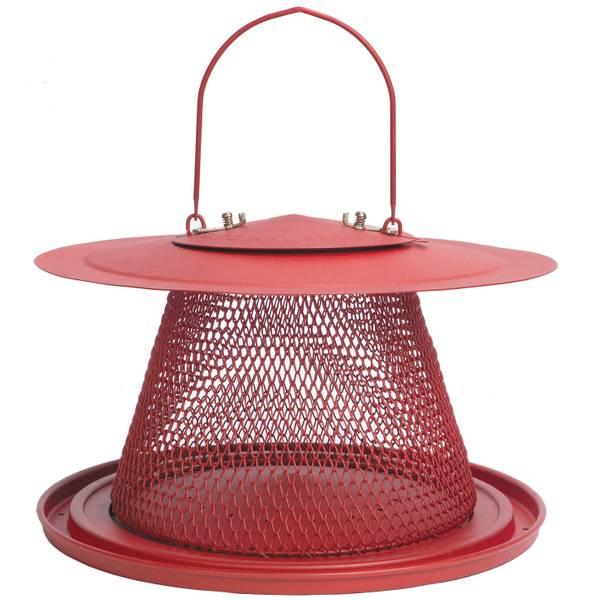 Red Cardinal Bird Feeder