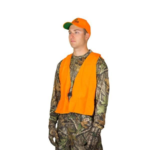 Hunter's Specialties Blaze Orange Youth Safety Vest thumbnail
