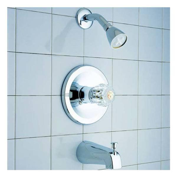 Plus 04 - 275 Classic Single Handle Tub and Shower Set
