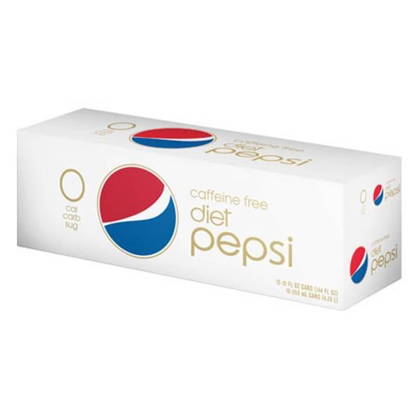 Caffeine Free Diet Pepsi - 12 Pack