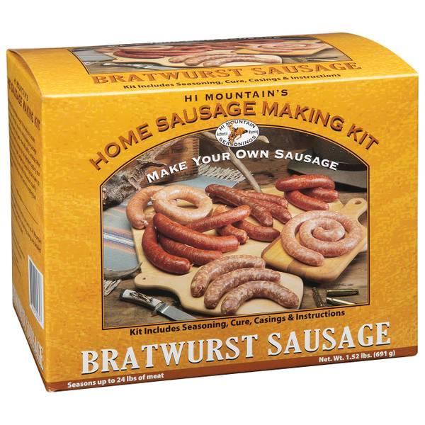 Bratwurst Sausage Home Sausage Making Kit