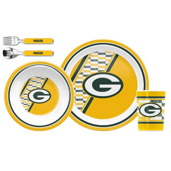 Green Bay Packers Children's Dinner Set