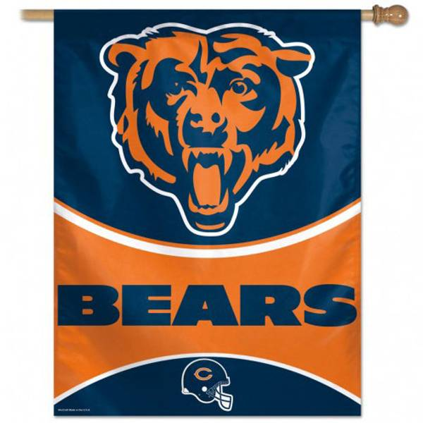 Chicago Bears NFL House Flag