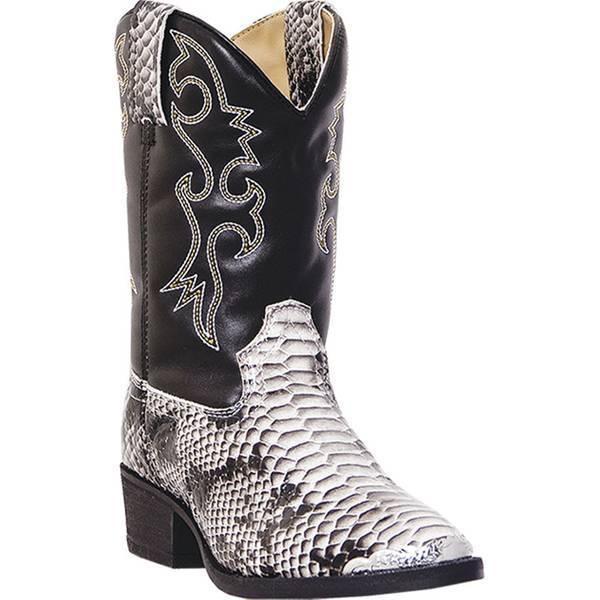 Boys' Snake Skin Western Boot