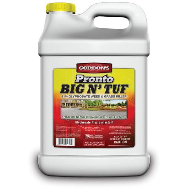 Pronto 2.5 Gallon Big N' Tuf 41% Glyphosate Weed & Grass Killer