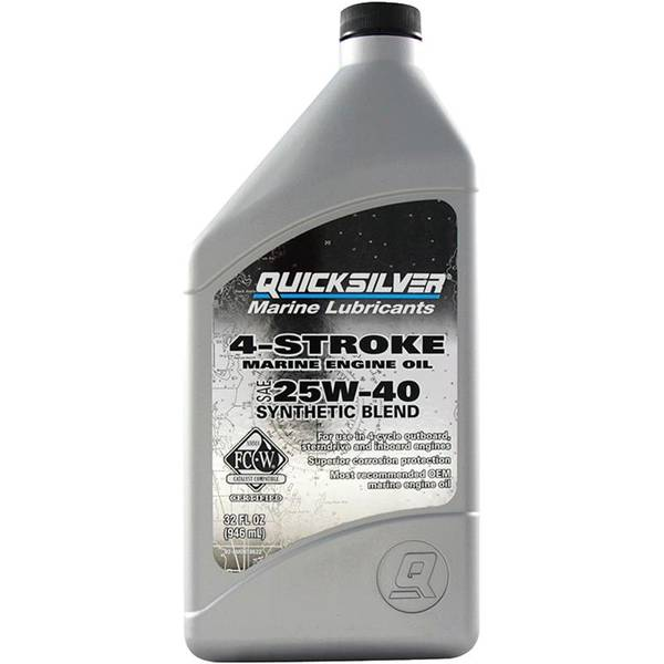 4 - Stroke Synthetic Blend Outboard Oil