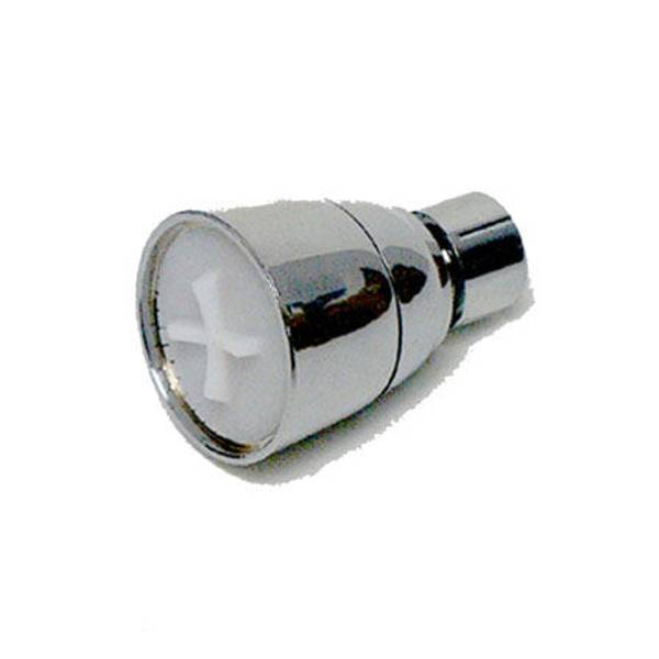 1 - Spray Setting Chrome Plastic Shower Head