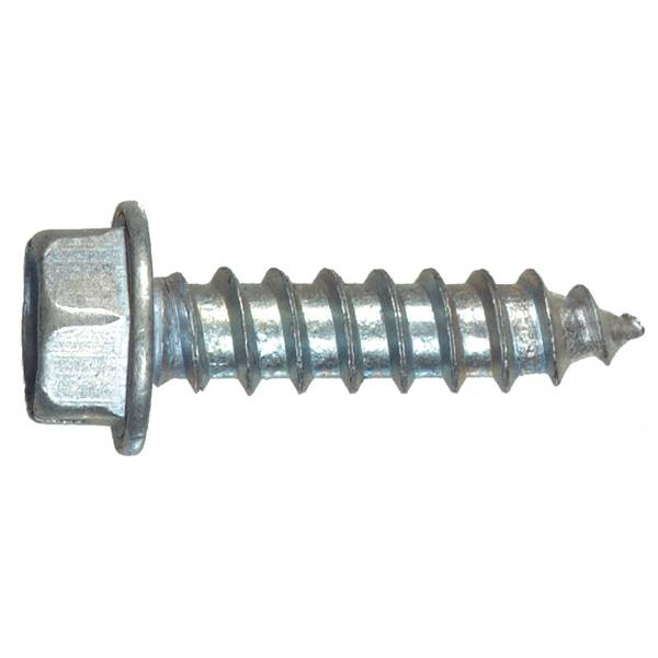 Hex Washer Slotted Head Sheet Metal Screw