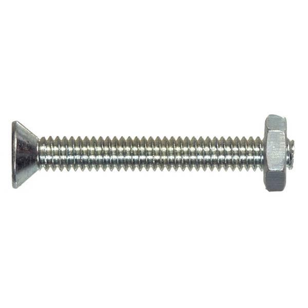 10-24 Machine Screw with Nut