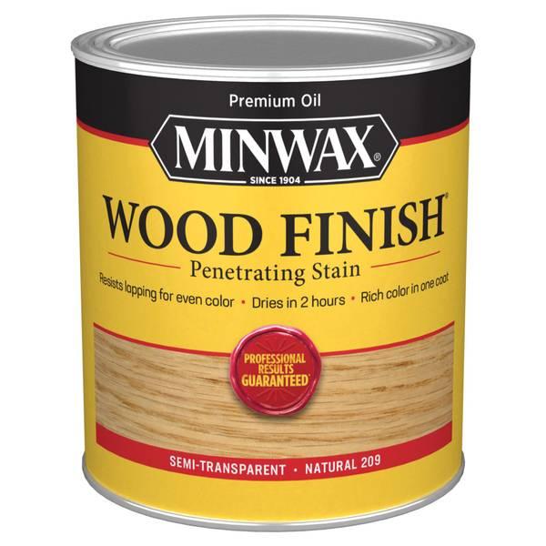 1/2 Pint Oil Based Natural Wood Finish