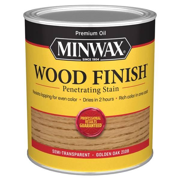 1 Qt Oiled Based Golden Oak Wood Finish