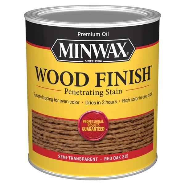 1 Qt Oiled Based Red Oak Wood Finish