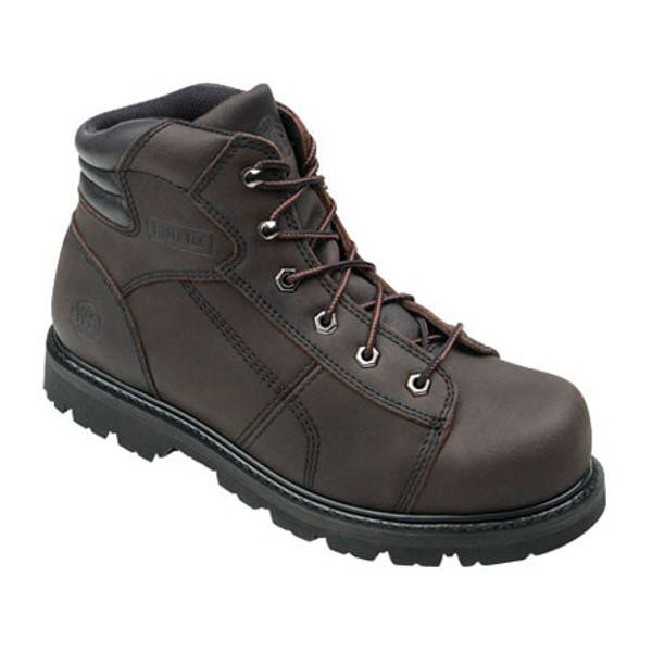 Men's Lug Steel Toe Work Boots