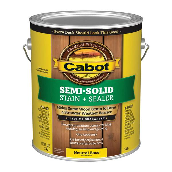 Cabot Semi Solid Oil Decking Stain