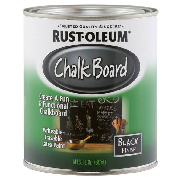 Chalkboard Brush-On Paint