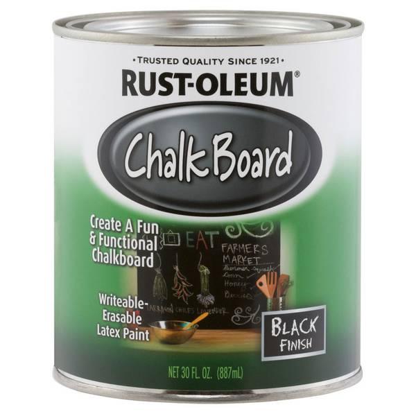Chalkboard Brush-On Paint