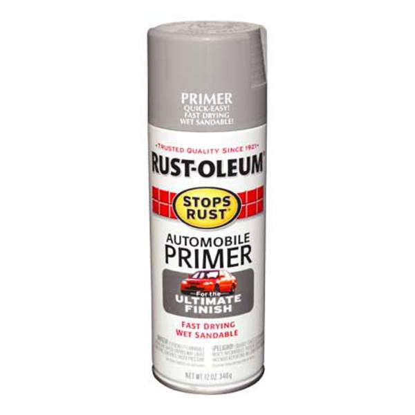 Stops Rust Automobile Primer Paint Spray
