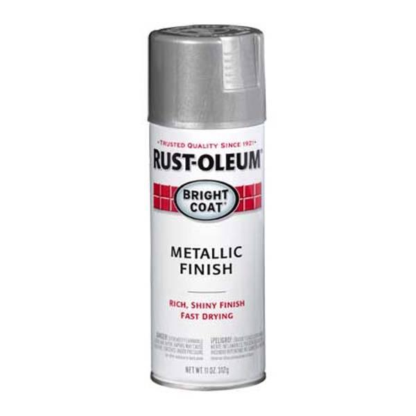 Rust Oleum Bright Coat Metallic Finish Spray Paint