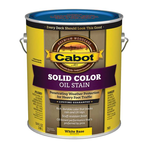Solid Oil Deck Stain
