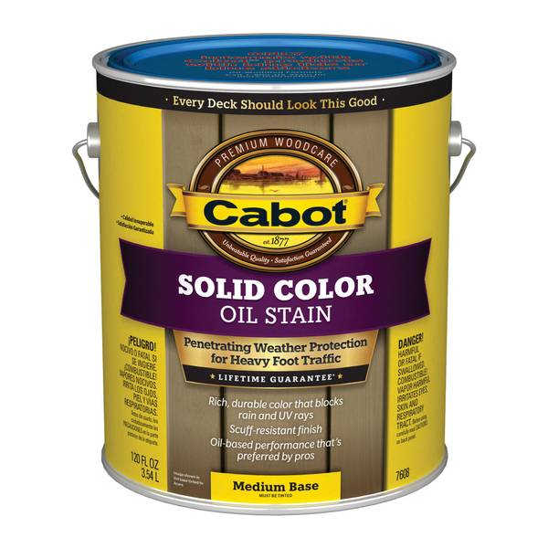 Cabot Solid Oil Deck Stain