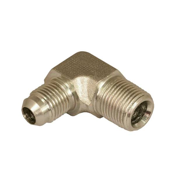 Hydraulic Adapter Male JIC x Male Pipe Thread 90 Degree (2501 Series)