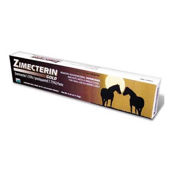 Zimecterin Gold Horse Dewormer