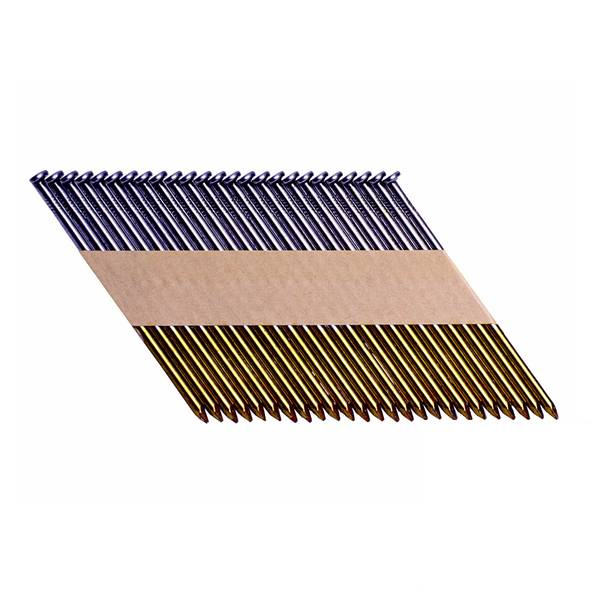 30-Degree Paper Collated Smooth Coated Framing Nails