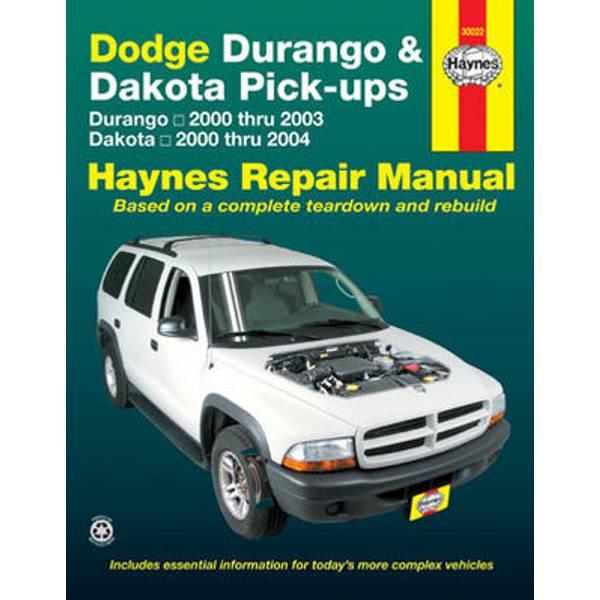 Dodge Durango (00-03) & Dakota Pick-Ups (00-04) Manual
