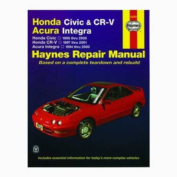 2013 honda civic repair manual