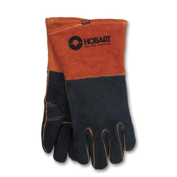 Rust / Black Form - Fitted Welding Gloves
