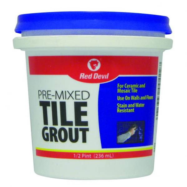 Pre-Mixed Tile Grout Paste