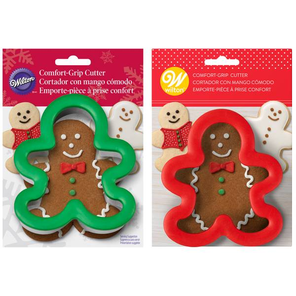 Comfort Grip Gingerbread Cookie Cutter
