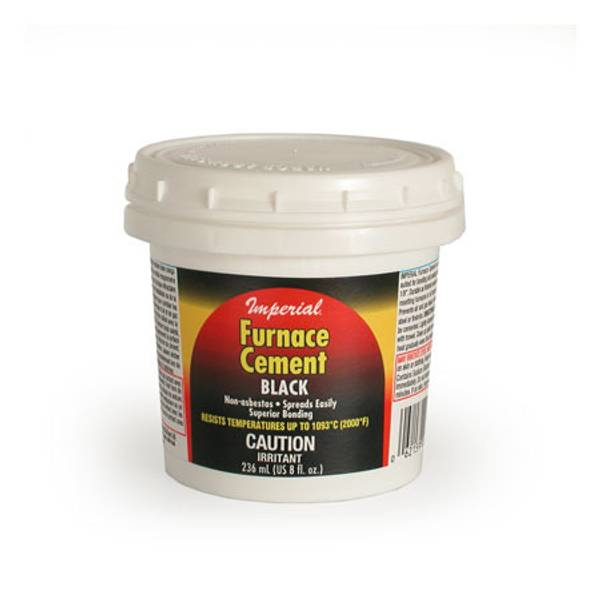 Furnace Cement BLACK
